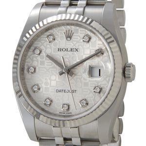 ロレックス ROLEX 116234 G-SVC デイトジャ...