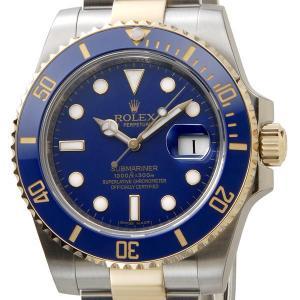 ロレックス ROLEX 腕時計 116613 LB サブマリーナデイト ブルー/ゴールド メンズ ブランド|s-select