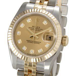 ロレックス ROLEX 179173 G デイトジャスト レディース 腕時計 ブランド 送料無料 新品