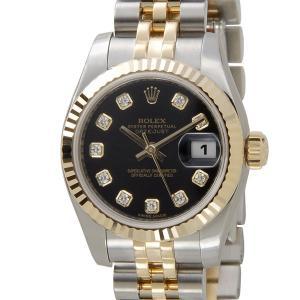 ロレックス ROLEX 179173G BK DateJust デイトジャスト ダイヤモンド10P レディース 腕時計