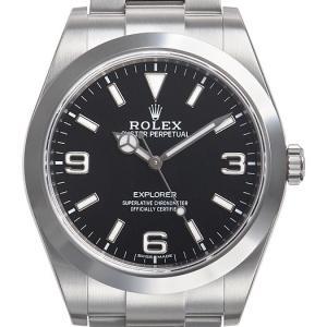 ロレックス ROLEX エクスプローラー 1 最新モデル 214270 N EXPLORER ブラック メンズ 腕時計 新品 【送料無料】|s-select