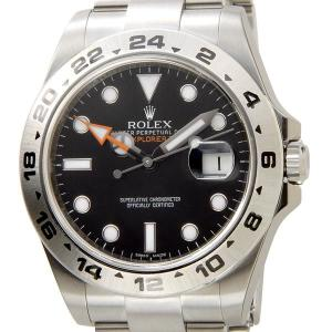 ロレックス ROLEX 216570 BK エクスプローラーII 新型 ブラック メンズ EXPLORER 腕時計 新品 送料無料