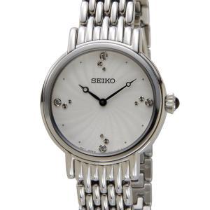 セイコー SEIKO SFQ805P1 SWAROVSKI スワロフスキー クリスタル クオーツ シルバー レディース 腕時計【送料無料】|s-select