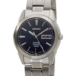 セイコー SEIKO SGG729P1 チタニウム メンズ 腕時計 ダークネイビー|s-select