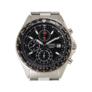 セイコー SEIKO 海外モデル パイロットクロノ SND253P1 メンズ腕時計 ブラック セイコーウオッチ ブランド|s-select