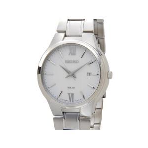 セイコー SEIKO メンズ 腕時計 SNE385P1 Core コア ソーラー ホワイトダイアル クオーツ ホワイト 新品【送料無料】|s-select