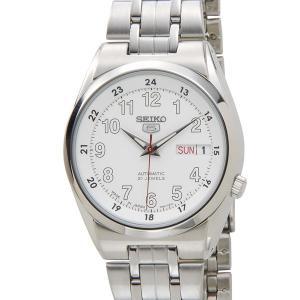 セイコー SEIKO SNK579J1 SEIKO5 セイコーファイブ 日本製 自動巻き ホワイト メンズ 腕時計|s-select