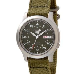 セイコー5 SEIKO5 腕時計 時計 メンズ ミリタリー グリーン SEIKO SNK805K2 セイコーファイブ|s-select