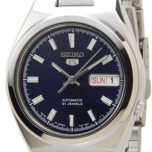セイコー SEIKO SNKC51J1 SEIKO5 セイコー5 セイコーファイブ 自動巻き ブルー×シルバー メンズ腕時計 セイコーウオッチ ブランド s-select