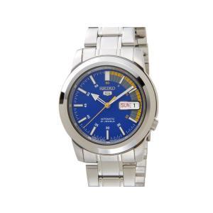セイコー SEIKO SNKK27J1 SEIKO5 セイコー5 ファイブ 自動巻き ブルー メンズ レディース 腕時計|s-select