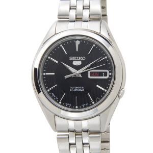 セイコー SEIKO SNKL23J1 SEIKO5 セイコーファイブ 日本製 自動巻き ブラック メンズ 腕時計|s-select