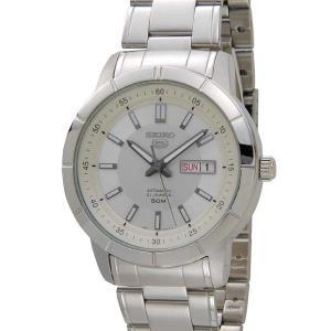 セイコー SEIKO メンズ SEIKO 5 セイコー5 ファイブ SNKN51K1 自動巻き シルバー 腕時計|s-select