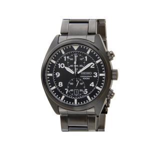 セイコー SEIKO クロノグラフ SNN233P1 SPORTS スポーツ ブラック メンズ 腕時計【送料無料】|s-select