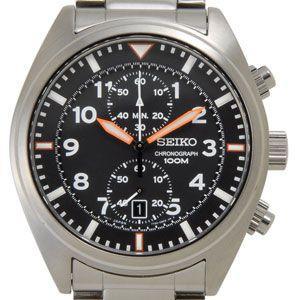セイコー SEIKO メンズ 腕時計 海外モデル SNN235P1 クオーツ クロノグラフ ブラック セイコーウオッチ ブランド【送料無料】|s-select