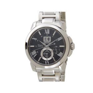セイコー SEIKO プルミエ キネティック SNP141P1 Premier Kinetic ブラック メンズ 腕時計【送料無料】|s-select