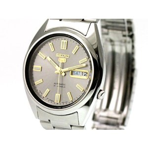 セイコー SEIKO SEIKO5 セイコー5 セイコーファイブ 腕時計 自動巻き SNXS75J1【日本製】グレー メンズ セイコーウオッチ ブランド【送料無料】|s-select
