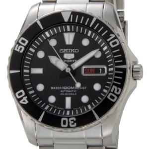 セイコー SEIKOファイブ SEIKO5 自動巻き ブラック/ブラック メンズ 腕時計 SNZF17J1 日本製 セイコーウオッチ ブランド|s-select