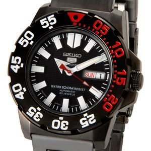 セイコー SEIKO SEIKO5 セイコー5 セイコーファイブ 腕時計 自動巻き SESNZF53J1 ブラック メンズ セイコーウオッチ ブランド【送料無料】|s-select