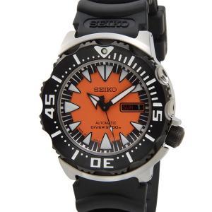 セイコー SEIKO SRP315J1 スーペリア ダイバー 日本製 自動巻き オレンジ メンズ 腕時計|s-select