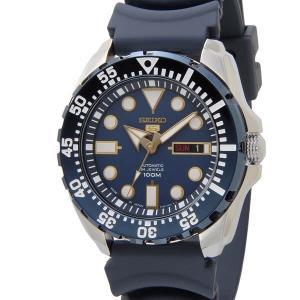 SEIKO セイコー ファイブ スポーツ SEIKO5 メンズ 腕時計 SRP605J2 自動巻き ネイビー 青 新品 【送料無料】|s-select