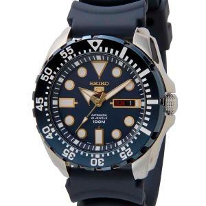 セイコー SEIKO メンズ SEIKO 5 セイコー5 ファイブ スポーツ SRP605K2 自動巻き ブルー 腕時計 s-select