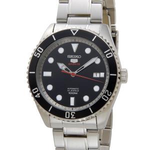 クリアランスセール セイコー SEIKO SRPB91K1 SEIKO5 セイコー5 ファイブ スポーツ ブラック メンズ 腕時計 新品 【送料無料】|s-select