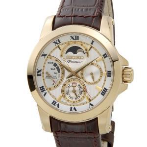 SEIKO セイコー メンズ 腕時計 SRX014P1 PREMIER プレミア キネティック ダイレクトドライブ ムーンフェイズ|s-select