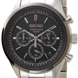 セイコー SEIKO 腕時計 ssb063p1 クオーツ クロノ メンズ ブラック セイコーウオッチ 新品【送料無料】|s-select