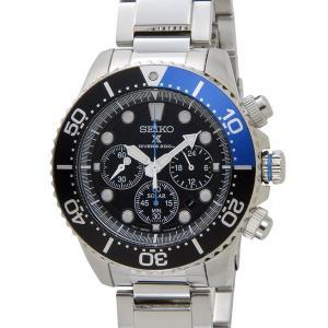 セイコー SEIKO 腕時計 ソーラークロノ クォーツ メンズ ウォッチ SSC017P1|s-select