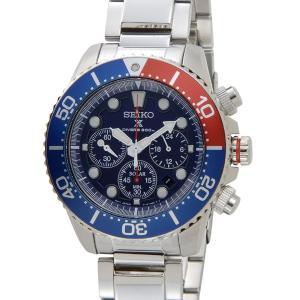 セイコー 腕時計 SEIKO クロノグラフ ダイバーズ ソーラー SSC019P1 ブルー メンズ ウォッチ セイコーウオッチ 新品 送料無料|s-select
