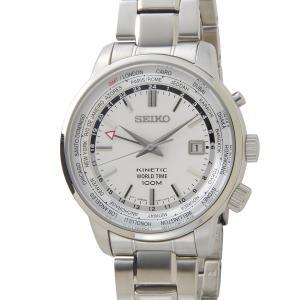 セイコー キネティック SEIKO SUN067P1 キネティック ワールドタイム GMT メンズ 腕時計|s-select