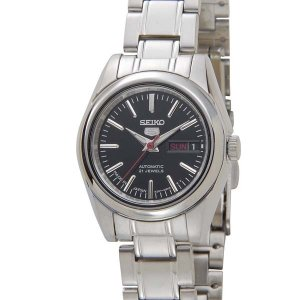 セイコー SEIKO セイコー5 SEIKO5 ファイブ 自動巻き SYMK17J1 ブラック 腕時計 レディース|s-select