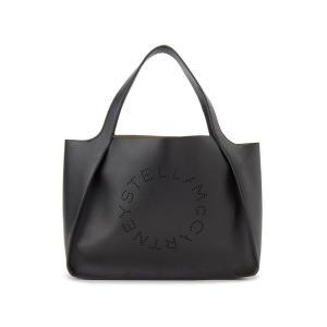サマーセール ステラマッカートニー Stella McCartney トートバッグ 502793 W9923 1000 ロゴ トート ブラック レディース 新品|s-select