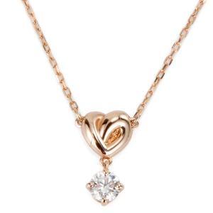 スワロフスキー Swarovski ネックレス レディース 5516542 Lifelong Heart ライフロング ハート ローズゴールド|s-select
