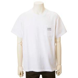 クリアランスセール タトラス TATRAS Tシャツ 半袖 メンズ ホワイト MTAT21S8122-10 OCEANO バックロゴプリント s-select