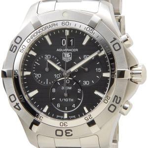 タグホイヤー TAG Heuer CAF101E.BA0821 アクアレーサー クロノグラフ グランドデイト ブラック メンズ腕時計 ブランド|s-select