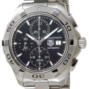 タグホイヤー TAG Heuer メンズ腕時計 アクアレーサー CAP2110.BA0833 ブラック×シルバー ブランド|s-select
