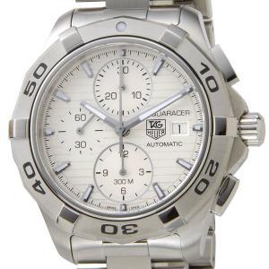タグホイヤー TAG Heuer メンズ腕時計 アクアレーサー CAP2111.BA0833 ホワイト×シルバー ブランド|s-select