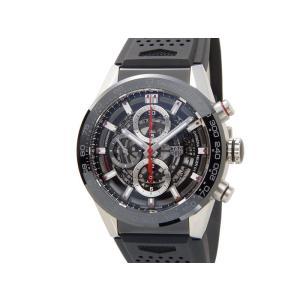 タグホイヤー TAG HEUER CAR201V.FT6046 CARRERA カレラ キャリバー ホイヤー01 クロノグラフ ブラック 腕時計 メンズ s-select