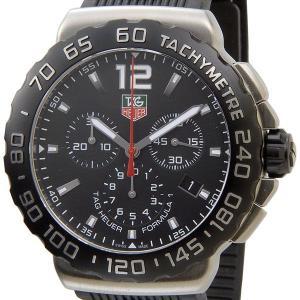 タグホイヤー TAG Heuer CAU1110.FT6024 フォーミュラー1 クロノグラフ ブラック メンズ腕時計 ブランド|s-select