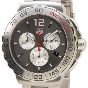 タグホイヤー TAG Heuer CAU1113.BA0858 フォーミュラ1 クロノグラフ インディ500 アントラサイトグレー メンズ腕時計 ブランド|s-select