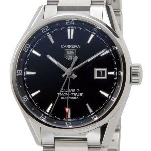 TAG Heuer タグホイヤー カレラ メンズ 腕時計 WAR2010.BA0723 Carrera カレラ Calibre 7 キャリバー7 ツインタイム オートマチック ブランド|s-select