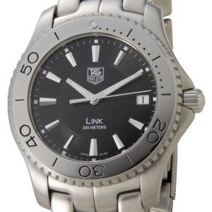 TAG Heuer タグホイヤー TAG Heuer リンク ブラック メンズ 腕時計 WJ1110.BA0570 ブランド|s-select
