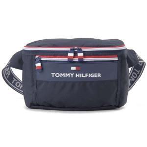 トミーヒルフィガー TOMMY HILFIGER ボディバッグ TH-828 ナイロン ウエストバッグ ネイビー メンズ レディース s-select