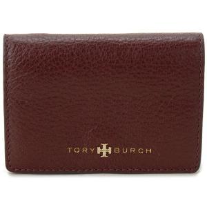 トリーバーチ カードケース 名刺入れ TORY BURCH 22159114 500 レザー ディープベリー レディース ブランド s-select