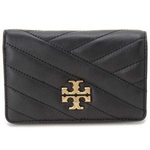 トリー バーチ TORY BURCH 二つ折り財布 レディース コンパクト 財布 56607 001 ブラック|s-select