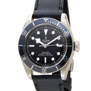 チュードル TUDOR ヘリテージ ブラックベイ 79230B 革ベルト ブルー メンズ 腕時計|s-select