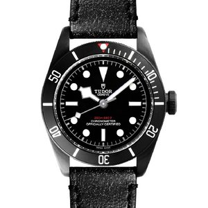 チュードル TUDOR ヘリテージ ブラックベイダーク 79230DK レザー 革ベルト メンズ 腕時計 新品 【送料無料】|s-select