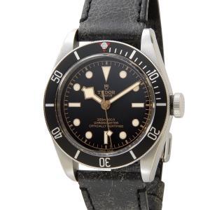 チュードル TUDOR ヘリテージ ブラックベイ 79230N 革ベルト ブラック メンズ 腕時計|s-select