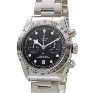 チュードル TUDOR 時計 79350 チュードル ヘリテージ ブラックベイ クロノグラフ 替えベルト付き ブラック メンズ 腕時計|s-select